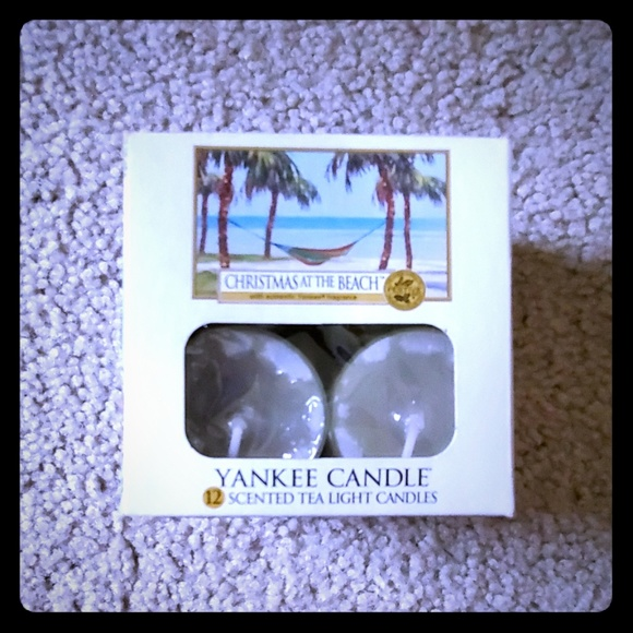 yankee candle Other - Tea lights Christmas on the Beach
